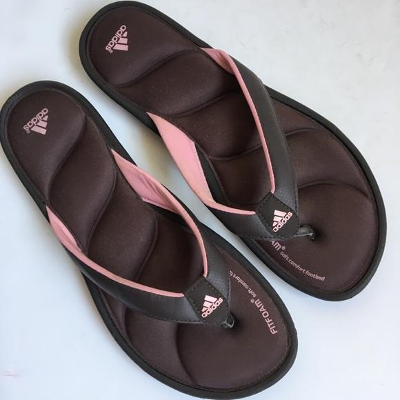 Adidas Fitfoam Sandal Flip Flop Thongs